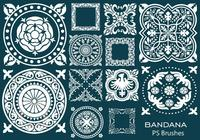 20 bandana ps brushes.abr vol.10