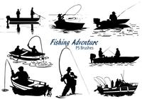 20 Fishing Adventure PS Brushes abr. Vol.18