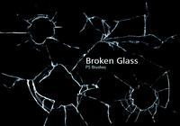 20 Broken Glass PS Brushes abr.vol.11