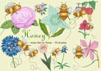 20 Honey Bee PS Brushes abr. vol.15