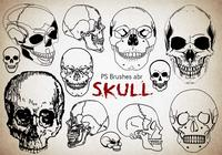 20 Skull PS Brushes abr. Vol.10