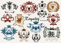 20 Royalty Emblem PS Brushes abr. vol.7