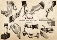 20 Hand PS Brushes abr.Vol.15
