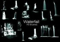 20 Waterfall PS Brushes abr. vol.9
