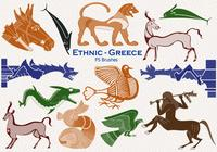 20 Ethnic Greece PS Brushes abr. vol.26