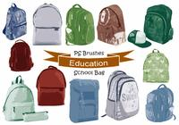20 Bolso de escuela de educación Ps Brushes abr. vol.19
