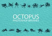 Free Octopus Photoshop Brushes 1