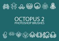 Gratis Octopus Photoshop Borstar 2