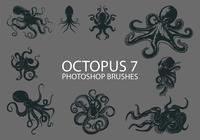 Gratis Octopus Photoshop Borstar 7
