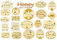 20 Honey Label PS-borstels abr. vol.16