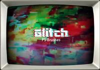 20 Glitch Texture PS Brushes.abr vol.2