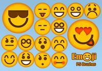 20 Emoji Face PS borstar abr.Vol.2