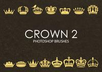 Brochas gratuitas de Photoshop Crown 2