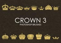 Brochas gratuitas de Photoshop Crown 3
