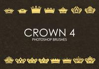 Brochas gratuitas de Photoshop Crown 4