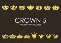 Brochas gratuitas de Photoshop Crown 5
