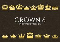Gratis Crown Photoshop borstar 6