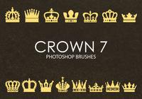 Gratis Crown Photoshop borstar 7