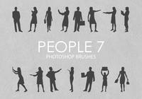 Free People Photoshop Brushes 7