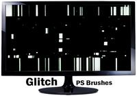 20 glitch texture ps brushes.abr vol.3