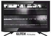 20 glitch texture ps brushes.abr vol.4