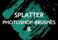 Splatter Brushes 8