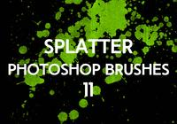 Splatter Photoshop Pinceaux 11