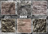20 Rock Texture PS Brushes abr vol.24