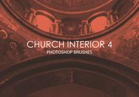 Gratis Church Interior Photoshop Brushes 4