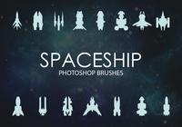 Free Spaceship Photoshop Brushes