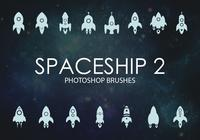 Gratis Nave espacial Photoshop Brushes 2