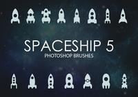 Free Spaceship Photoshop Brushes 5