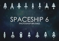 Free Spaceship Photoshop Brushes 6