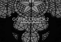 Gratis Gothic Church Pinceles para Photoshop 2