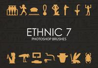 Free Ethnic Photoshop Brushes 7