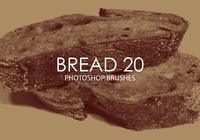 Free Bread Photoshop Brushes 20
