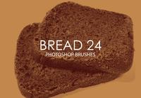 Free Bread Photoshop Brushes 24