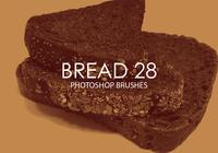 Free Bread Photoshop Brushes 28