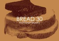 Free Bread Photoshop Brushes 30