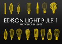 Free Edison Light Bulb Photoshop Brushes 1