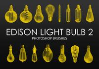 Gratis Edison Light Bulb Photoshop Brushes 2