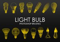 Free Light Bulb Pinceles para Photoshop
