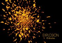 20 Explosion PS Brushes.abr Vol.4