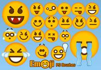 20 Emoji Face PS borstar abr.Vol.4