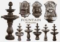 20 Vintage Fountain PS Brushes.abr vol.1