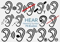 20 Hearing Symbol PS Brushes.abr vol.1