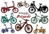 20 silueta de bicicleta PS Brushes abr.Vol.7