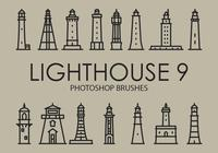 Free Lighthouse Pinceles para Photoshop 9