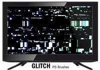 20 glitch texture ps brushes.abr vol.10