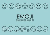 escovas emoji photoshop